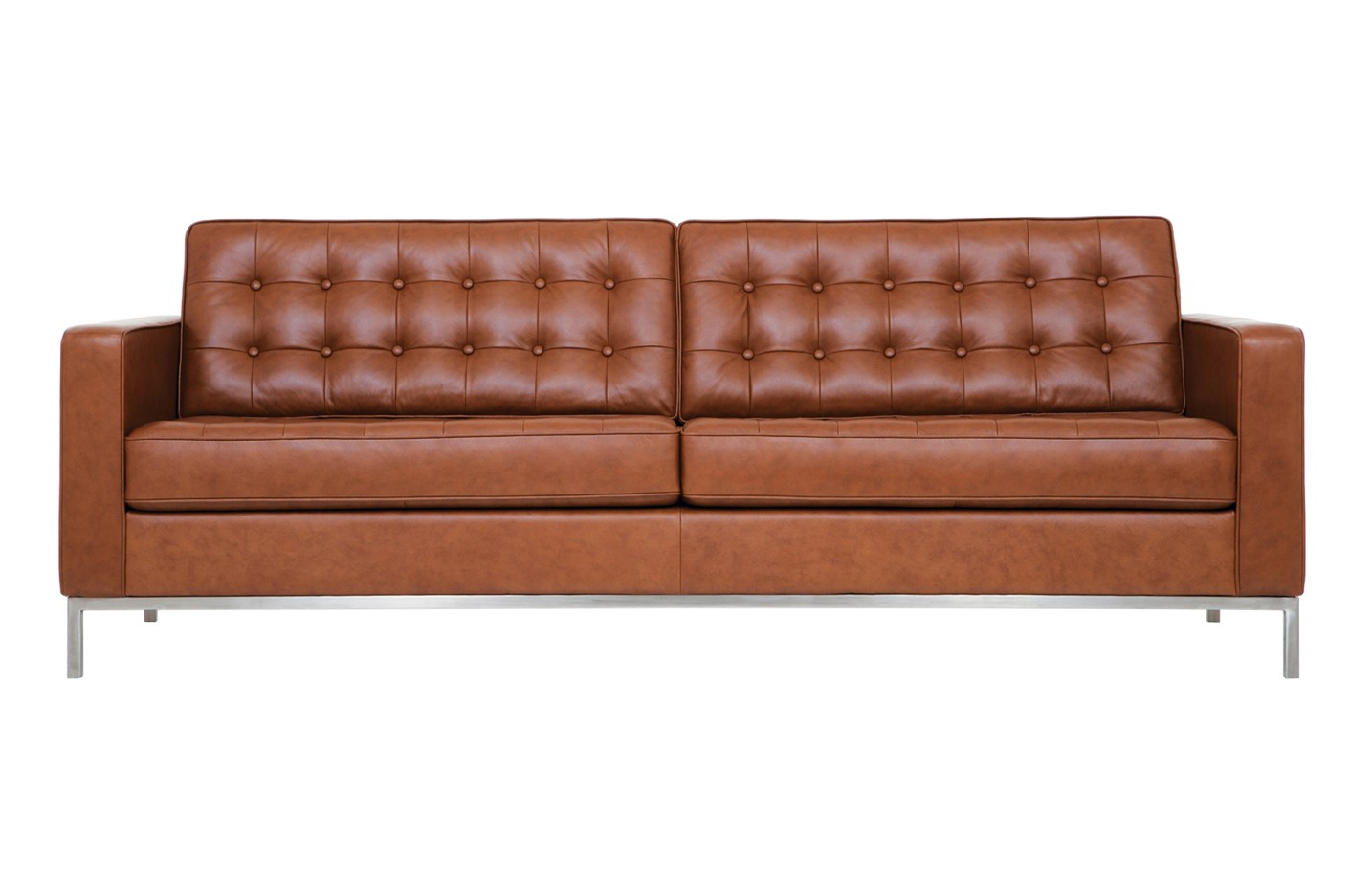 Designer Furniture Golden Gate Plaza Eq3 Reverie Leather Sofa