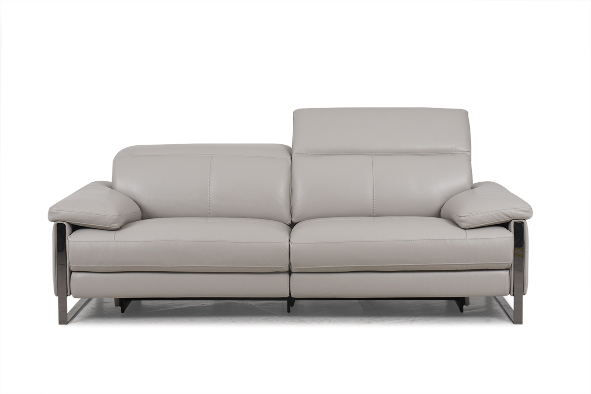 Designer Furniture Golden Gate Plaza Contemporary Power Reclining Sofa With Adjustable Headrest