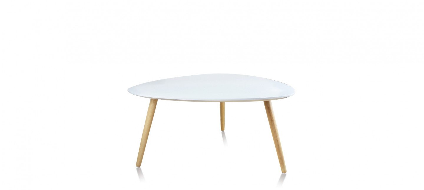 Table Basse Scandinave Blanche Table Basse Scandinave Ovale Blanche Pristina