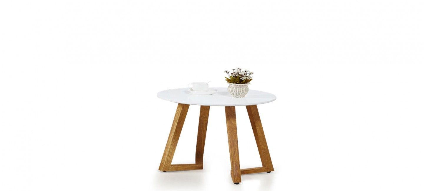 Table Basse Scandinave Blanche Table Basse Scandinave Ronde Blanche Ygg