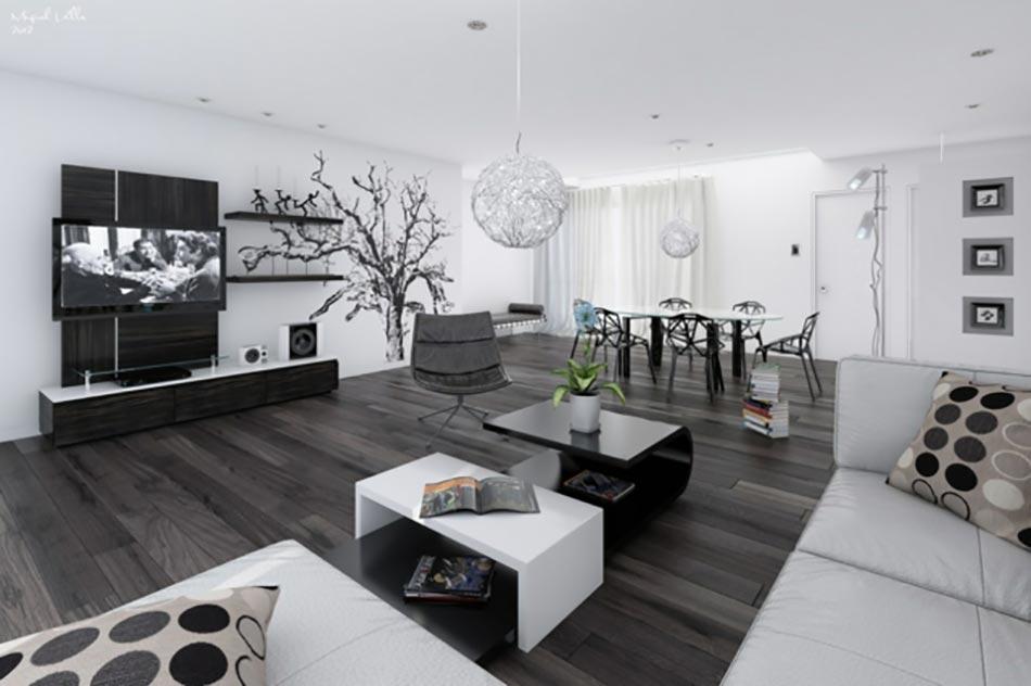 Design Interieur Salon Moderne | Décoration D\'intérieur Salon- 135 ...
