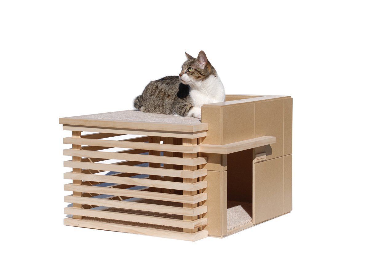 Designer Cat Beds Modern Cat Furniture House Made Of Paper