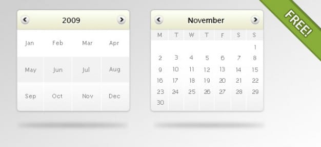 Free Customizable Digital Calendar Mockup in PSD - DesignHooks