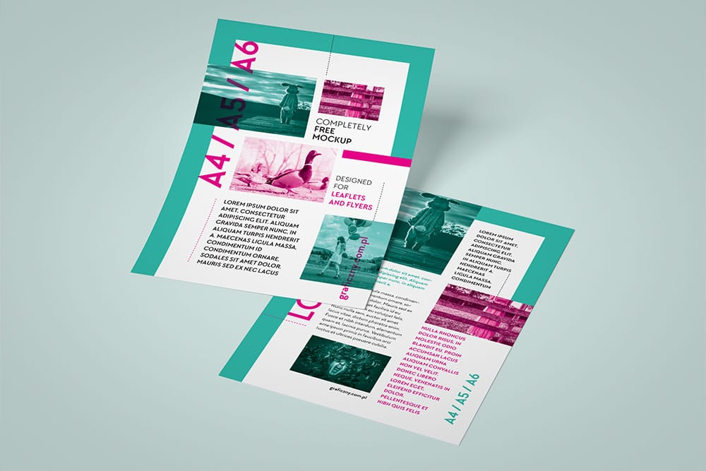 word leaflet template