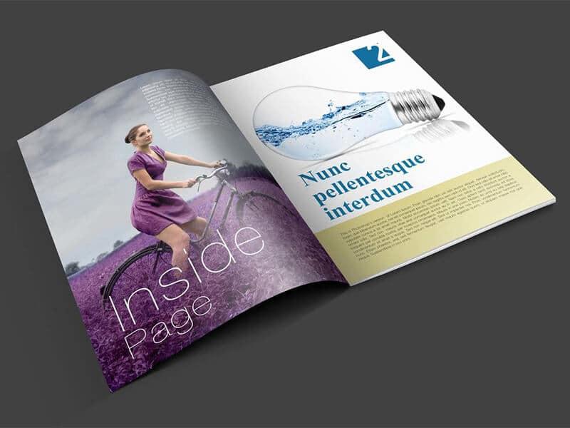 Magazine PSD Mockup Template Download For Free DesignHooks