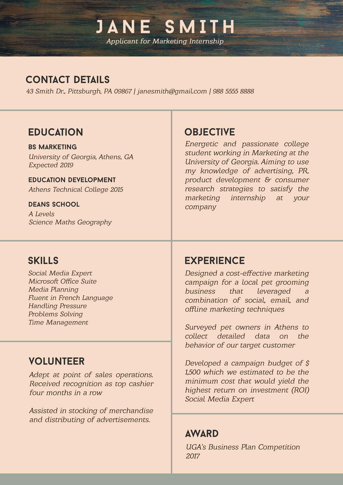 resume help website