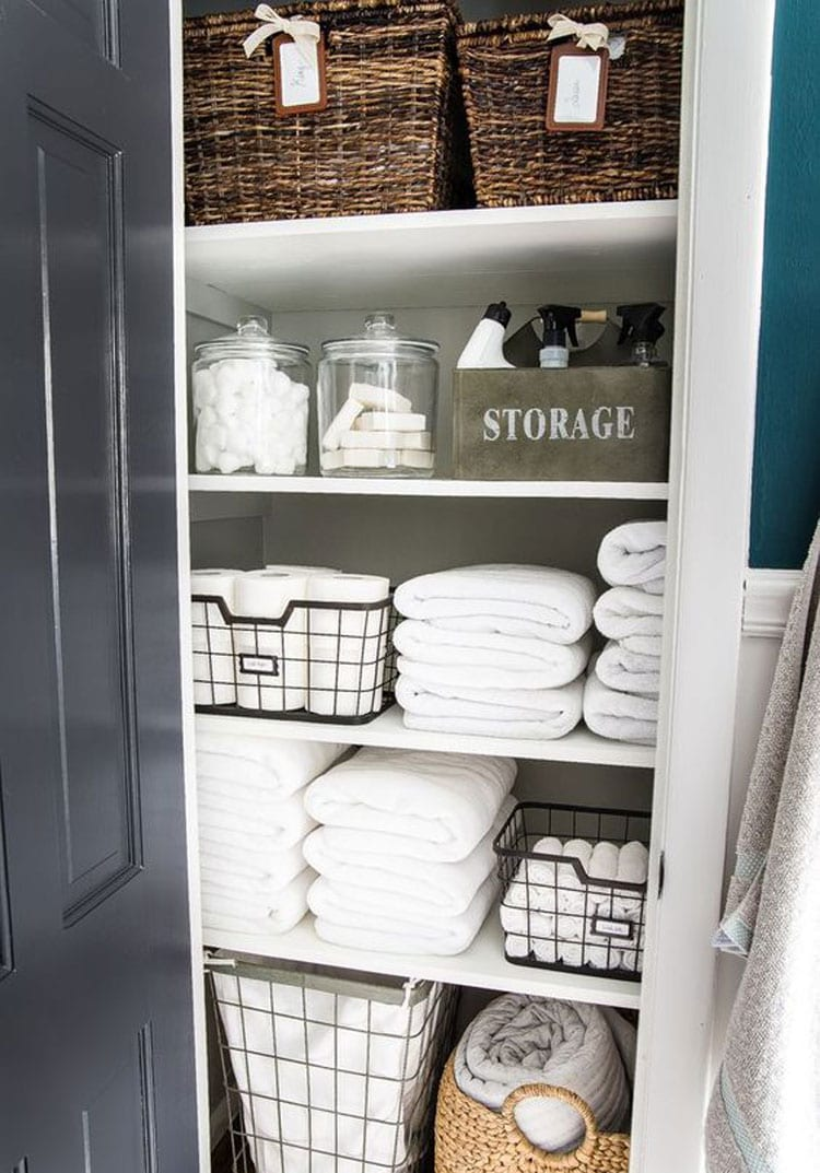 67 Best Small Bathroom Storage Ideas Cheap Creative Organization 2020
