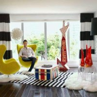 A tour of HGTV's David Bromstad's Miami Condo...