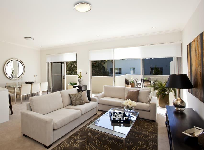 67 Luxury Living Room Design Ideas - Designing Idea - brown rugs for living room