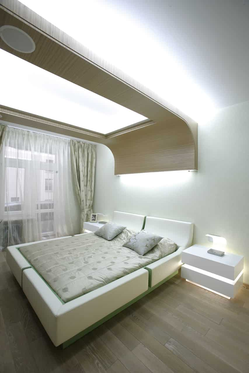 Ultra Modern Bedrooms ultra modern bedroom white