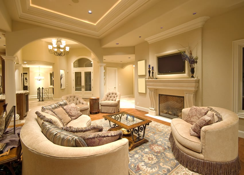 50 Elegant Living Rooms Beautiful Decorating Designs \ Ideas - formal living room chairs