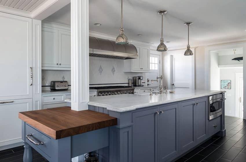 27 Blue Kitchen Ideas Pictures Of Decor Paint Cabinet