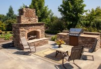 30 Outdoor Fireplace Ideas (With Pictures) - Designing Idea
