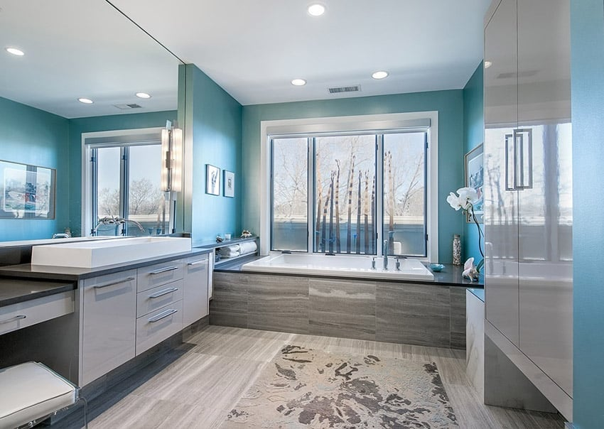 Bathroom Design Ideas (Part 3) Contemporary, Modern  Traditional