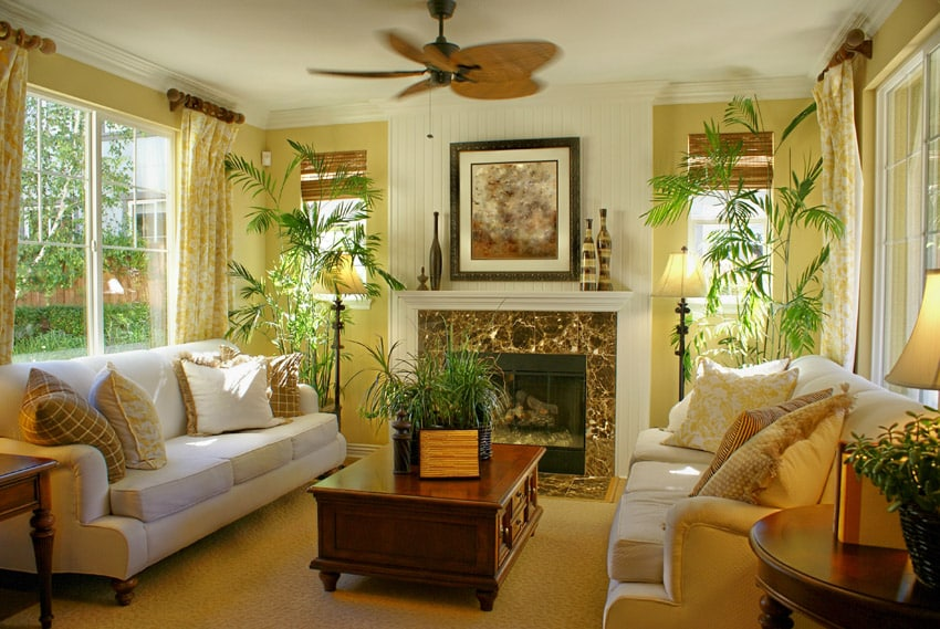 79 Living Room Interior Designs \ Furniture (Casual \ Formal - tropical living room furniture