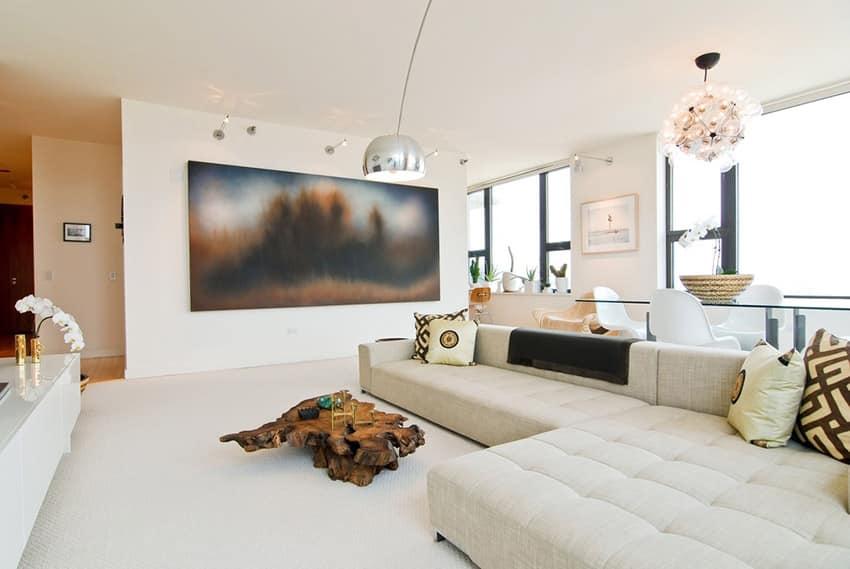 60 Stunning Modern Living Room Ideas (Photos) - Designing Idea - mid century modern living room
