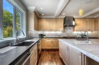 Magnificent Maple Kitchen Cabinets Contemporary 2 Chair ...
