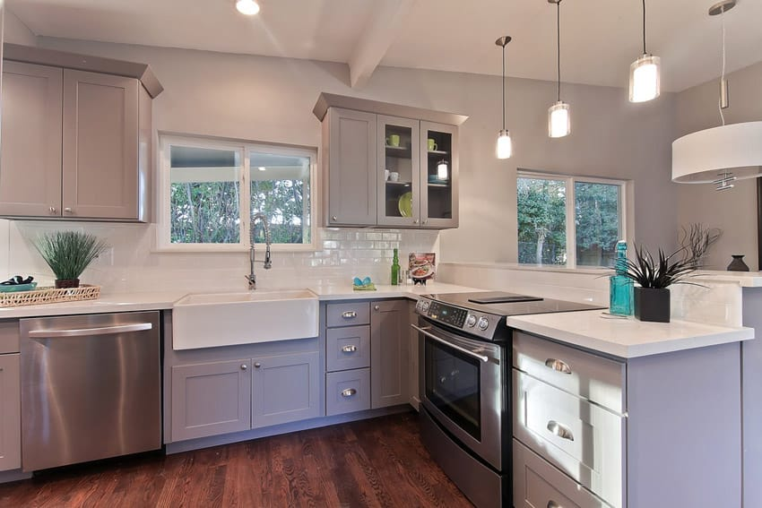 29 Charming Compact Kitchen Designs Designing Idea