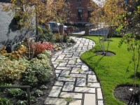 75 Walkway Ideas & Designs (Brick, Paver & Flagstone