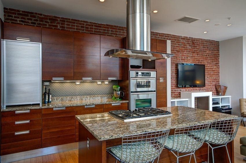 kitchens feature exposed brick form tile backsplash kitchen backsplash tile mural accent tile backsplashes home