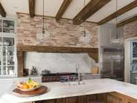 47 Brick Kitchen Design Ideas (Tile, Backsplash & Accent
