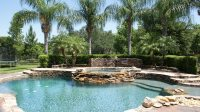 37 Swimming Pool Water Features (Waterfall Design Ideas ...