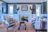 39 Beautiful Living Rooms with Hardwood Floors - Designing ...