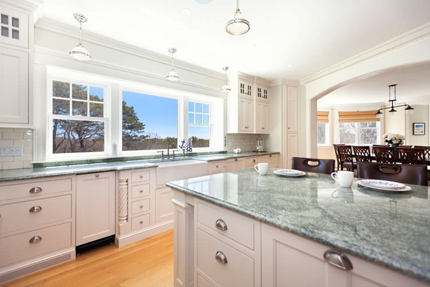 Gree N White Combination For Kitchen Cabinets 45 Luxurious Kitchens With White Cabinets (ultimate Guide