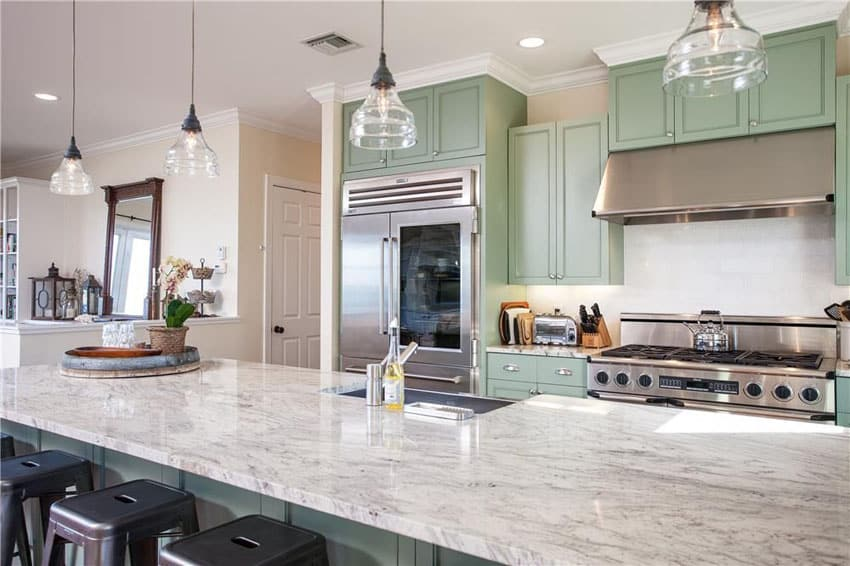 23 Beautiful Beach Style Kitchens (Pictures)