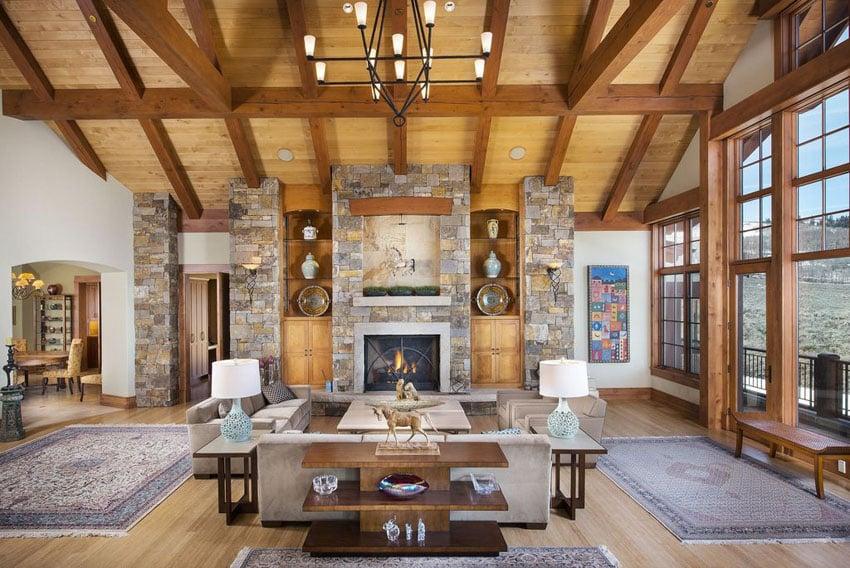 30 Craftsman Living Rooms Beautiful Interior Designs Designing Idea