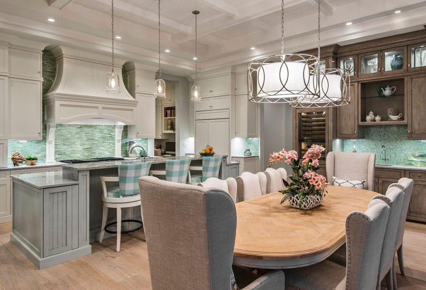 37 Gorgeous Kitchen Islands With Breakfast Bars (Pictures