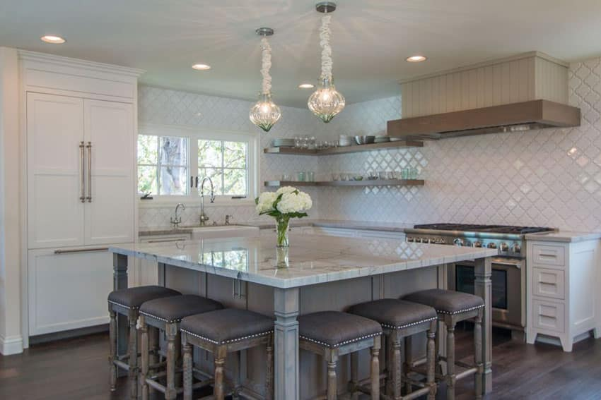 Modern Kitchen Island Lights 25 Beautiful Transitional Kitchen Designs (pictures