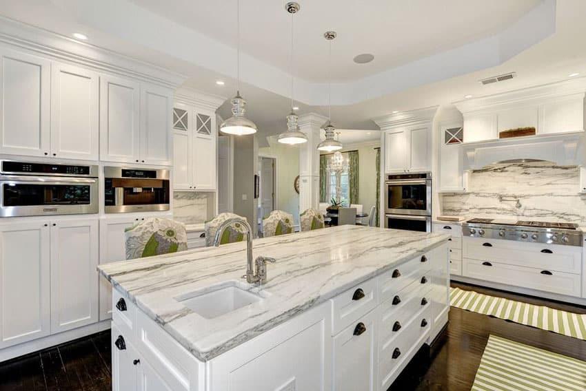 25 Beautiful Transitional Kitchen Designs (Pictures) - Designing Idea - transitional kitchen design