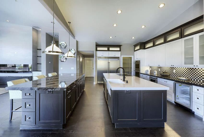 Stainless Steel Topped Kitchen Islands 25 Beautiful Transitional Kitchen Designs (pictures