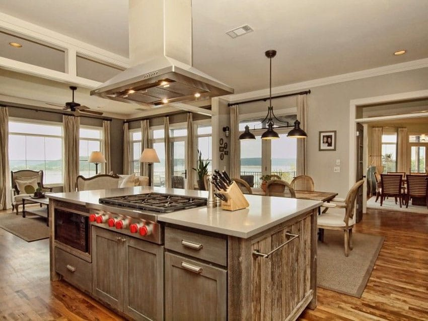 Old Barn Wood Kitchen Island 25 Reclaimed Wood Kitchen Islands (pictures) - Designing Idea