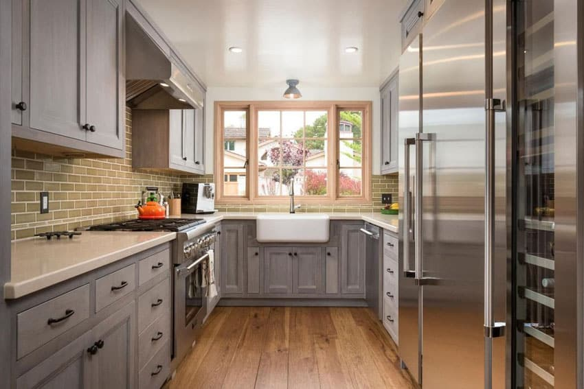 23 Small Galley Kitchens (Design Ideas) - Designing Idea - small galley kitchen design