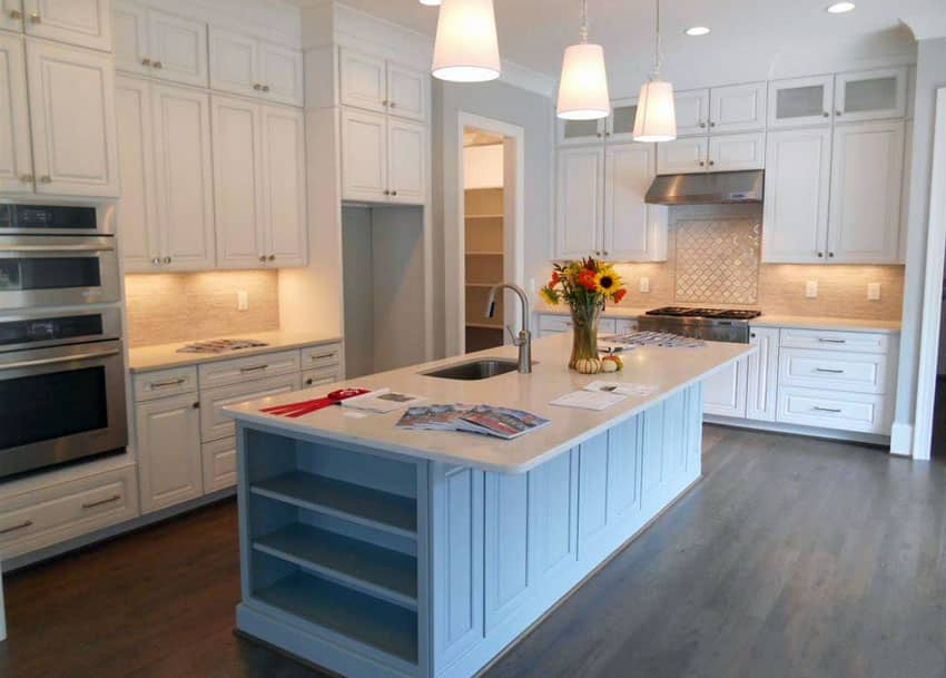 25 Blue And White Kitchens Design Ideas Designing Idea