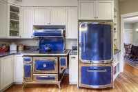 25 Blue and White Kitchens (Design Ideas)