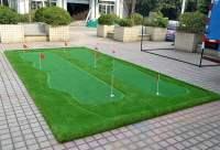 27 Golf Backyard Putting Green Ideas - Designing Idea