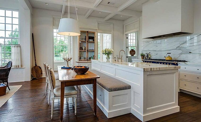 Kitchen Island With Bench Beautiful Kitchen Islands With Bench Seating - Designing Idea