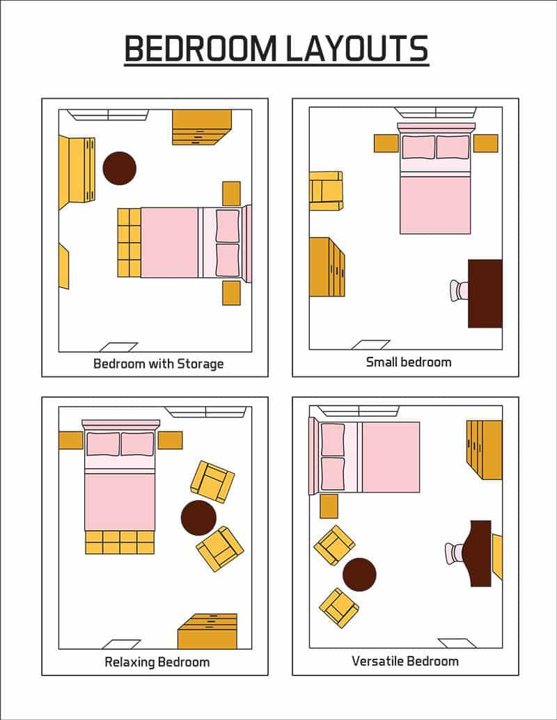 Bedroom Layout Ideas (Design Pictures)