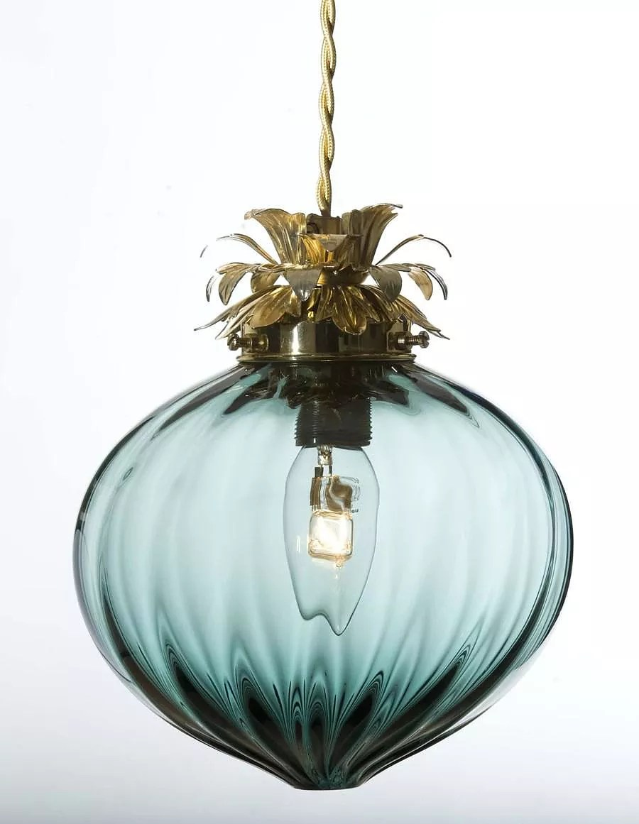 Rothschild Bickers Hand Blown Glass Lights Design Is This - Hand Blown Glass Lamp