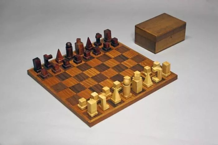 Bauhaus Schachspiel Naef Bauhaus Chess Set By Josef Hartwig. - Design Is This