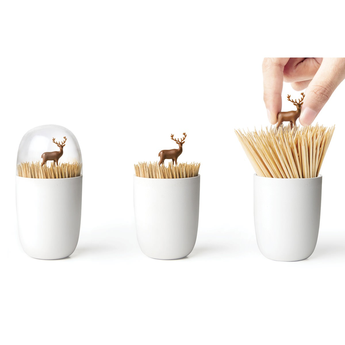 Toothpick Holders Deer Meadow Toothpick Holder Qualy Design Is This