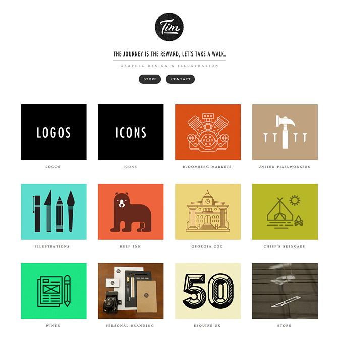 Online Portfolio DesignLab164