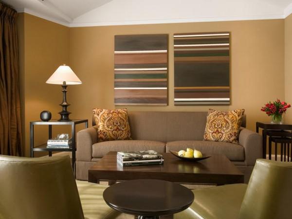 Living Room Paint Ideas u2013 Interior Design, Design News and - how to make a small living room look bigger