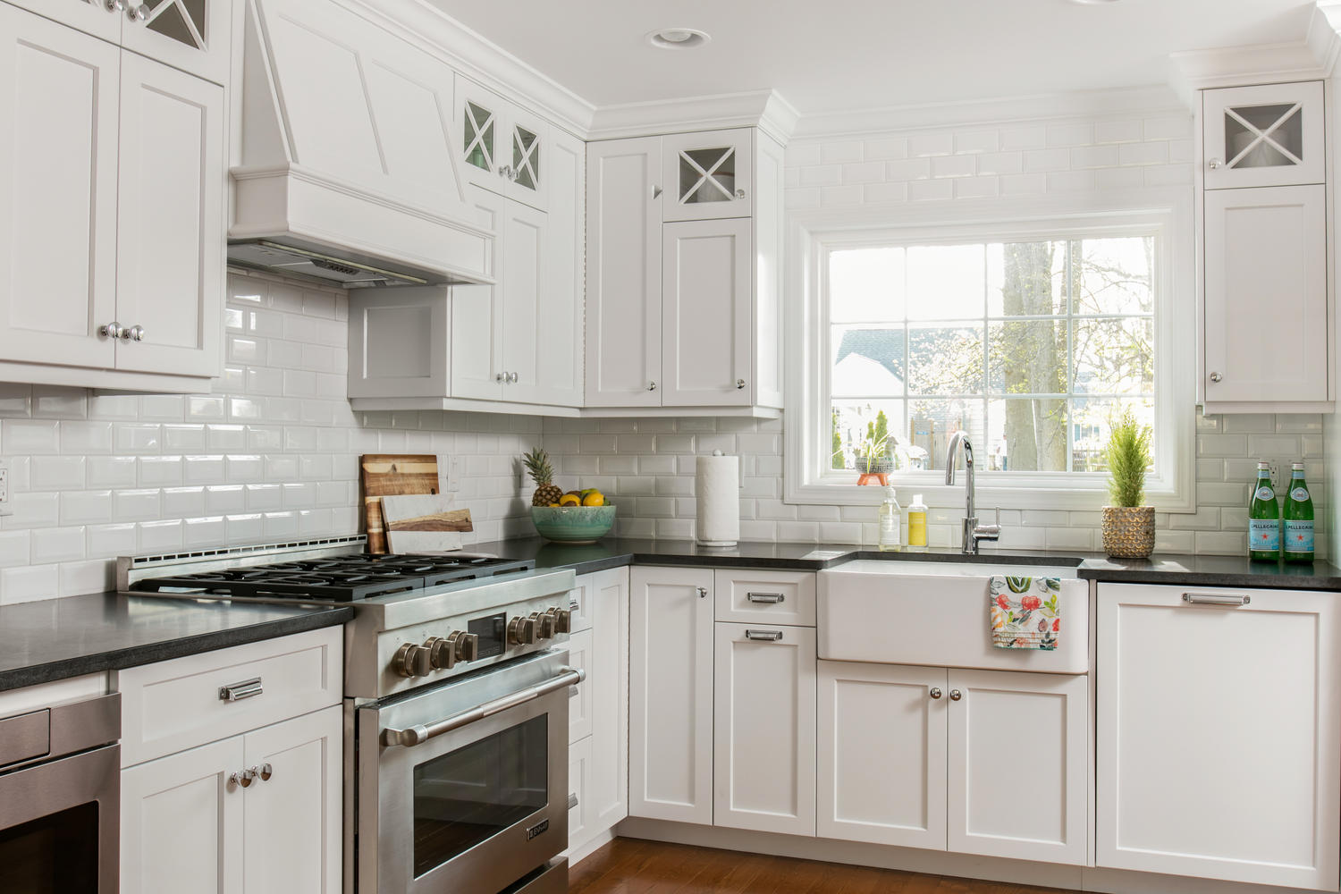Kitchen Pics With White Cabinets A Look At Classic White Kitchen Shrewsbury New Jersey By