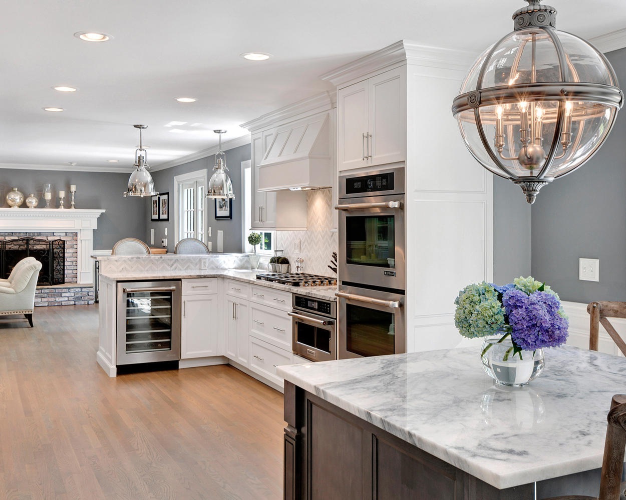 New Kitchen Ideas Timeless Grey And White Kitchen Middletown New Jersey By Design