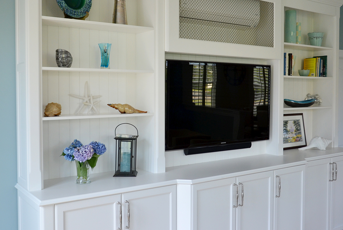 Hamptons Style Entertainment Unit Custom Entertainment Center Wall New Jersey By Design Line