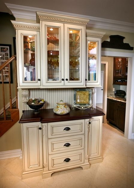 Two Tone Kitchen Cabinets Country French Elegance Manasquan New Jersey By Design